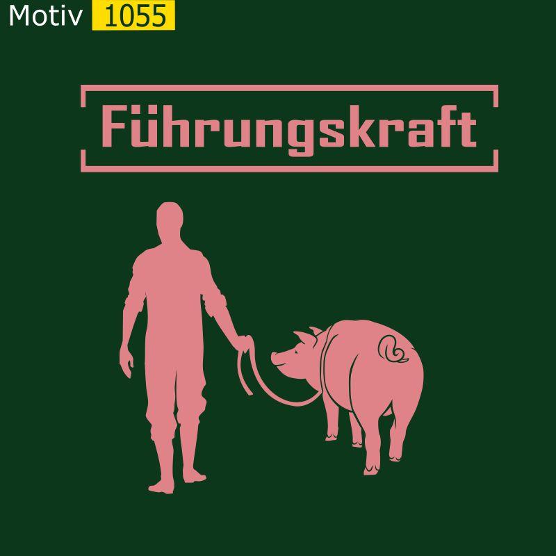 Motiv 1055 - Führungskraft Schwein