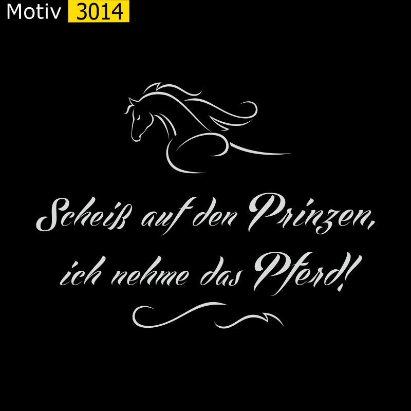Motiv 3014 - Scheiss auf den Prinzen