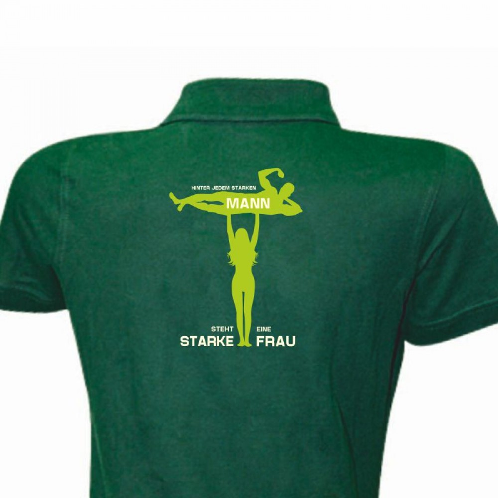 Polo-Shirt Lady - Motiv 1047