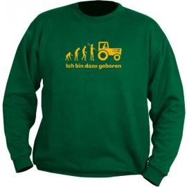 Sweat-Shirt - Motiv 1024, Größe 3XL, grün, Brust