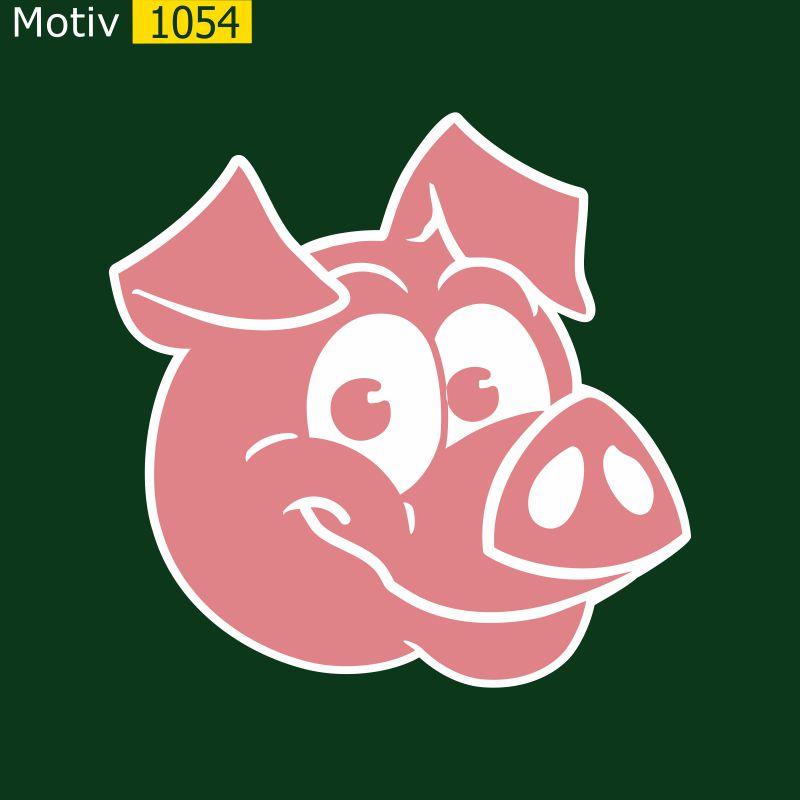 Motiv 1054 - Schweinekopf